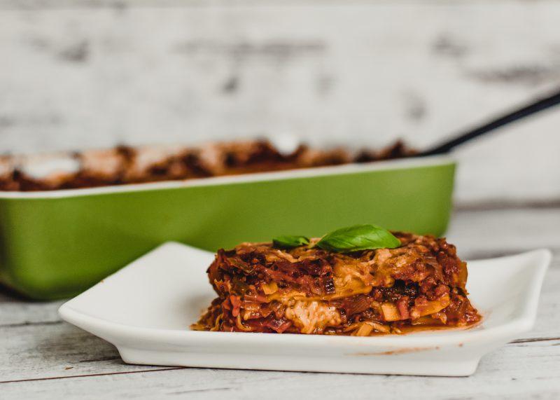 Vegetarische groente lasagne