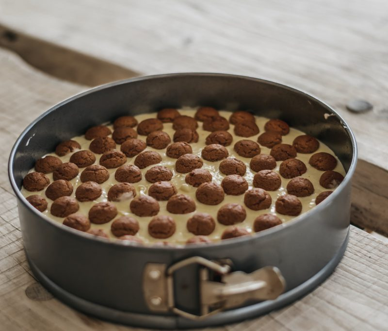 Guilty pleasure: pepernoten cheesecake