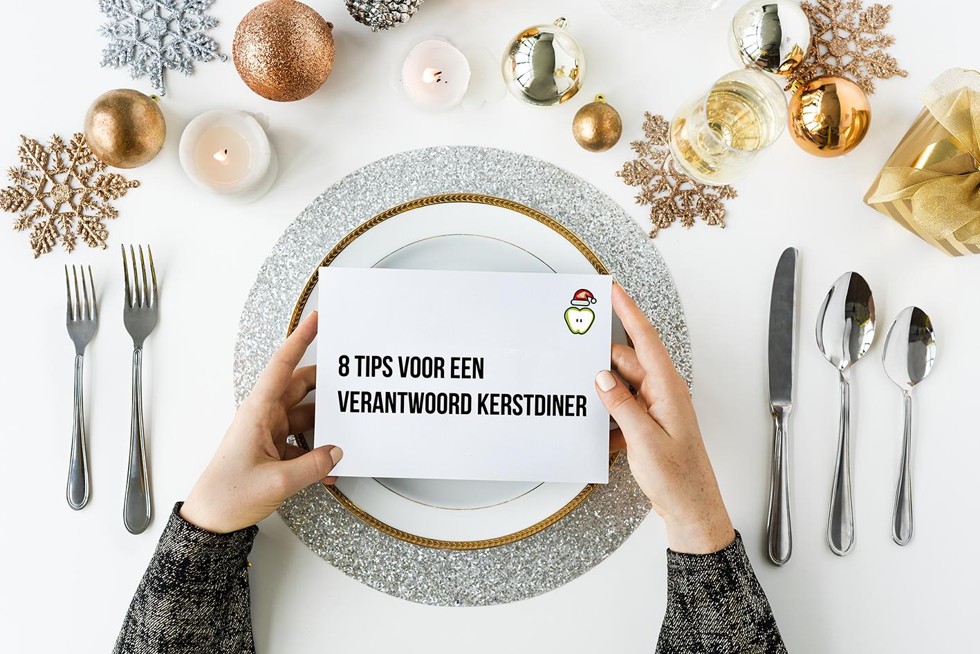 8 tips voor een verantwoord kerstdiner