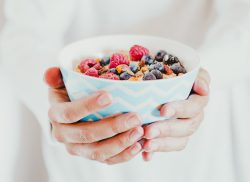Havermout met fruit