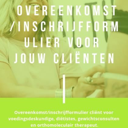 Download inschrijfformulier voor clienten
