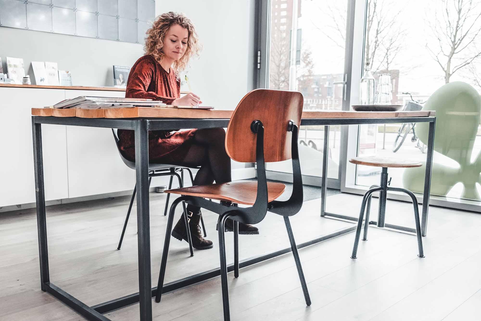 Voedingsdeskundige Margot in haar praktijk te Utrecht