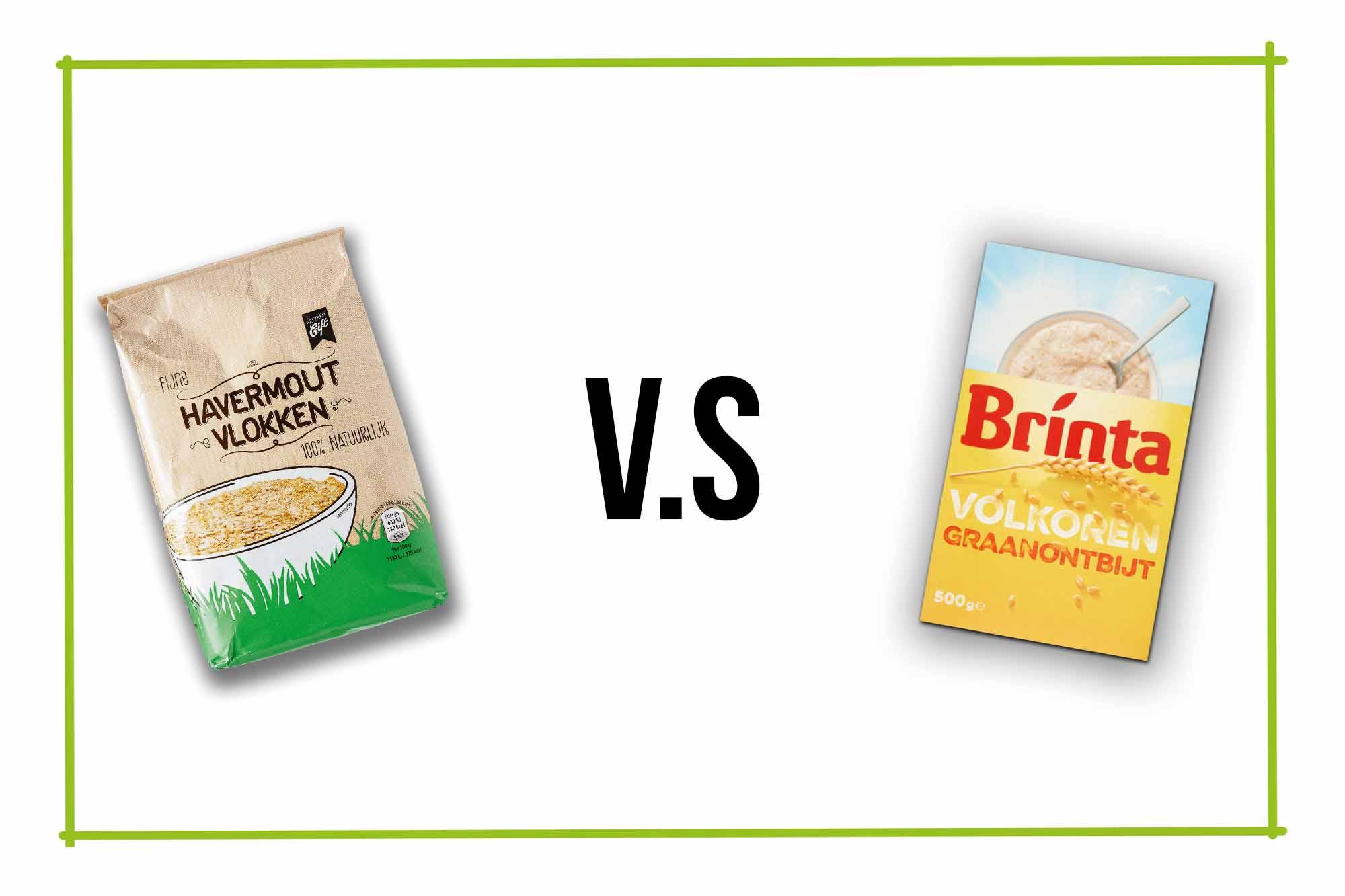 Welke kan je het beste kiezen, Brinta of Havermout?