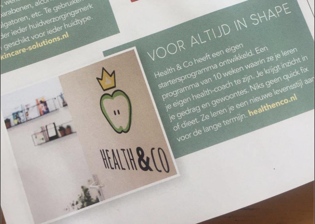 Beau monde schrijft over Health & Co