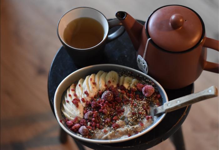 Bloemkoolpap ontbijt